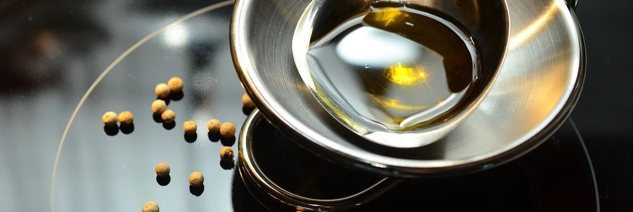 olijfolie voor de granola